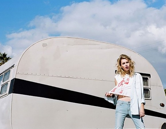 Photographer Jason Lee Parry Goes On The Open Road for Free People and Black & Grey