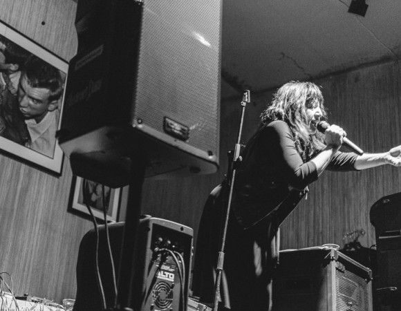 Lydia Lunch and Admiral Grey at Lethal Amounts by Drew Pluta